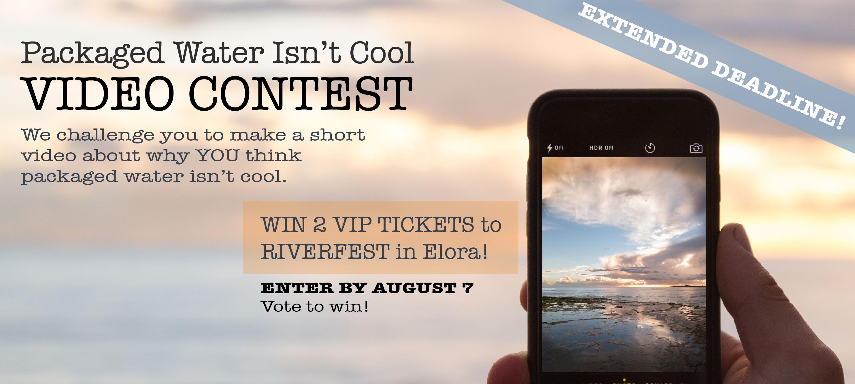 Deadline Extended for Riverfest Video Contest