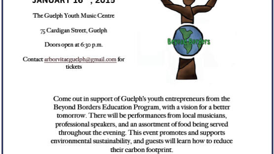 Arbor Vitae Event - Environmental Sustainability Guelph