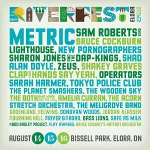 Riverfest Elora 2015 Musicians