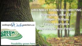 Greenbelt Town Hall Meeting