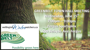 Greenbelt Town Hall Meeting
