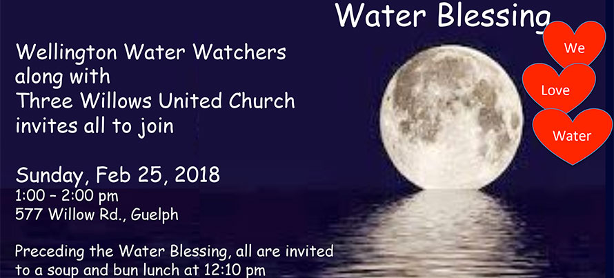 February 2018 Water Blessing